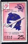 Sellos de Asia - Corea del norte -  Historia Postal