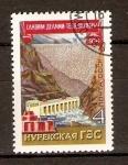 Stamps Russia -  PLANTA   HIDROELÉCTRICA   NUREK