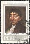 Stamps America - Peru -  PRECURSORES DE LA INDEPENDENCIA - HIPOLITO UNANUE