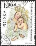 Stamps Poland -  MATKA BOZA ZWYCIESKA Z MARIAMPOLA