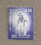 Stamps Sri Lanka -  Tambor daul