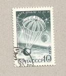 Sellos de Europa - Rusia -  Descenso en paracaidas