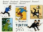 Stamps Europe - Spain -  dia del sello.personaje de tintin
