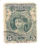 Sellos del Mundo : America : Uruguay : correo terrestre