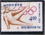 Stamps Asia - South Korea -  Gignasia