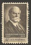 Stamps United States -  728 - Charles Evans Hughes, Gobernador de New York