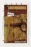 Sellos de Europa - Luxemburgo -  Mineral de hierro