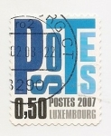 Stamps Luxembourg -  Cifra