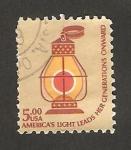Sellos de America - Estados Unidos -  Farol  ferroviario