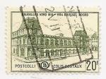 Stamps Europe - Belgium -  Ferrocarril-Bruxelles Nord 1861-1954