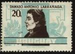 Sellos de America - Uruguay -  Cura patriota D�maso Antonio Larra�aga.