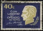 Sellos de America - Uruguay -  200 años del nacimiento del General Artigas. -Con libertad ni ofendo ni temo-