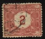 Sellos del Mundo : America : Uruguay : Timbre tasa de 1902.