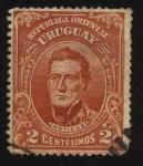 Stamps Uruguay -  El General Artigas