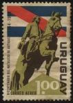 Stamps Uruguay -  200 años del nacimiento del General Artigas.