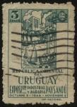 Sellos de America - Uruguay -  Exposición industrial y agraria en la ciudad de Paysandú año 1948.