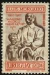 Stamps Uruguay -  Luis Morquio 1867-1967. Maestro, médico y puericultor.