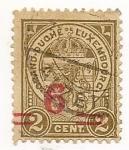 Stamps Luxembourg -  Escudo de Armas