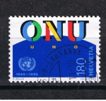 Stamps Europe - Switzerland -  O.N.U.  1945 - 1995