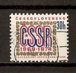 Sellos de Europa - Checoslovaquia -  5º Aniversario de la Federacion Checoslovaca