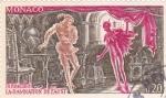Sellos del Mundo : Europa : Mónaco : La Damnation de Faust