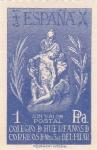 Stamps Spain -  Colegio de Huerfanos de Correos de Nuestra Señora del Pilar