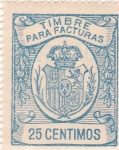 Stamps Spain -  Timbre para facturas