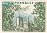 Sellos del Mundo : Europa : Mónaco : Castillo
