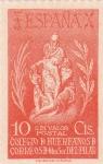 Sellos de Europa - España -  Colegio de Huerfanos de Correos de Nuestra Señora del Pilar