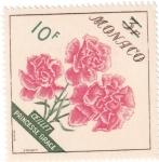 Stamps : Europe : Monaco :  Flor