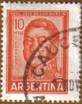 Stamps Argentina -  General JOSE DE SAN MARTIN