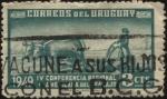 Sellos de America - Uruguay -  Arado con bueyes. 4ta. Conferencia regional americana del trabajo.