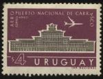 Sellos de America - Uruguay -  Aeropuerto Nacional de Carrasco.