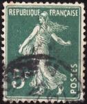 Stamps France -  SEMBRADORA CON FONDO LISO
