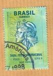 Stamps America - Brazil -  Tarifa Postal Internacional