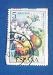 Stamps : America : Spain :  MANZANO.Malus Domestica. Ed:2258(Flora española1975-frutas)