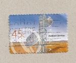 Stamps Australia -  Servicios en el interior del continente