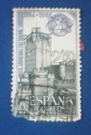 Stamps : Europe : Spain :  FERIA MUNDIAL DE NUEVA YORK.-Castillo de la Mota. Ed:1592.