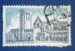 Stamps : Europe : Spain :  MONASTERIO DE LAS HUELGAS. Ed:1946