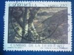 Stamps : America : Colombia :  CUMBRE DE LA TIERRA 1992