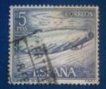 Sellos del Mundo : Europa : España : Homenaje a la Marina Española.Submarino Isaac Peral .Ed: 1610
