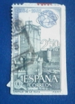 Stamps : Europe : Spain :  Feria Mundial de Nueva York.- CASTILLO DE LA MOTA. Ed:1592