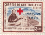 Sellos de America - Guatemala -  Conmemorativas de la Cruz Roja