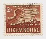 Stamps Luxembourg -  Correo Aéreo