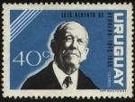 Sellos de America - Uruguay -  Luis Alberto de Herrera1873-1959. Pol�tico y presidente de la Rep�blica.