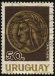 Stamps Uruguay -  Homenaje a Dante Alighieri.