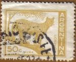 Sellos de America - Argentina -  PUMA