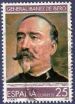 Stamps Europe - Spain -  Edifil 3150 General Ibáñez de Ibero 25