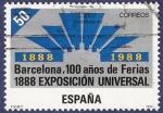 Sellos de Europa - España -  Edifil 2951 Exposición universal de Barcelona 50