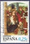 Stamps Spain -  Edifil 3955 Navidad 2002 0,25